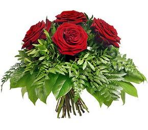 Amasya çiçek mağazası , çiçekçi adresleri  5 adet kırmızı gülden buket