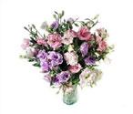 Amasya çiçek yolla , çiçek gönder , çiçekçi   Vazoda karisik kalite lisyantusler