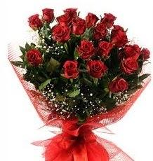 İlginç Hediye 21 Adet kırmızı gül  Amasya internetten çiçek siparişi