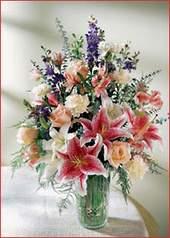 Amasya cicek , cicekci  Kaliteli vazoda mevsim çiçekleri