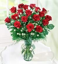 Amasya internetten çiçek satışı  9 adet mika yada vazoda kirmizi güller