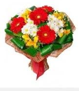 1 demet karışık buket  Amasya hediye sevgilime hediye çiçek