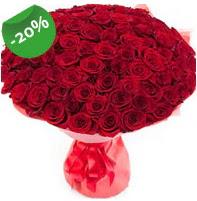 Özel mi Özel buket 101 adet kırmızı gül  Amasya anneler günü çiçek yolla