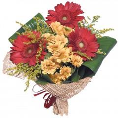 karışık mevsim buketi  Amasya çiçekçi mağazası