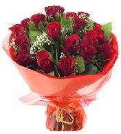 12 adet görsel bir buket tanzimi  Amasya çiçek siparişi vermek