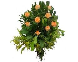 Amasya çiçekçi mağazası  8 adet Kavuniçi kaliteli gül