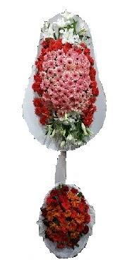 çift katlı düğün açılış sepeti  Amasya internetten çiçek satışı
