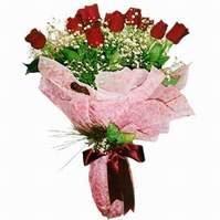 Amasya çiçek siparişi sitesi  12 adet kirmizi kalite gül