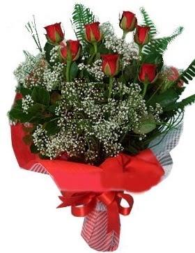 7 kırmızı gül buketi  Amasya çiçek servisi , çiçekçi adresleri