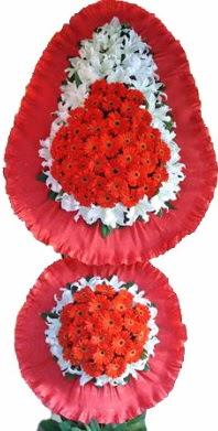 Amasya online çiçek gönderme sipariş  Çift katlı kaliteli düğün açılış sepeti