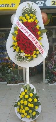 Çift katlı düğün nikah açılış çiçek modeli  Amasya çiçekçi mağazası