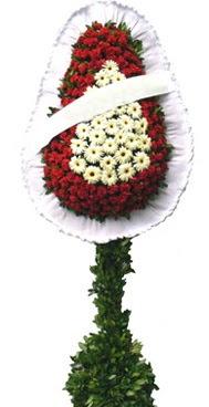 Çift katlı düğün nikah açılış çiçek modeli  Amasya İnternetten çiçek siparişi