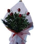 Amasya çiçekçi mağazası  5 adet kirmizi güllerden buket