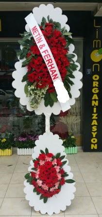 Çift katlı düğün nikah çiçeği modeli  Amasya çiçek siparişi sitesi