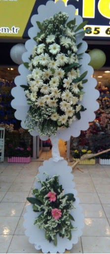 Çift katlı düğün nikah açılış çiçeği  Amasya çiçekçi telefonları