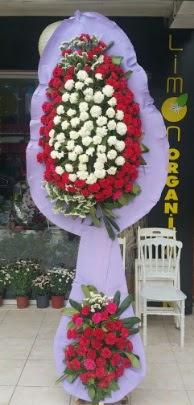 Çift katlı işyeri açılış çiçek modeli  Amasya ucuz çiçek gönder