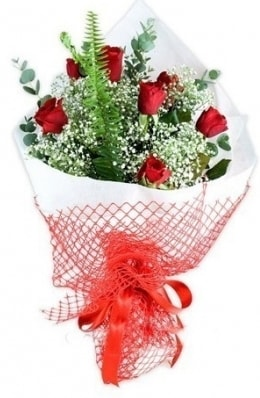 7 adet gülden kız arkadaşıma çiçek  Amasya çiçekçi telefonları