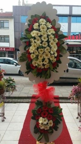 Çift katlı düğün açılış çiçeği  Amasya çiçek satışı