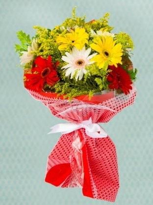 Karışık Gelbera Buketi  Amasya çiçek siparişi sitesi