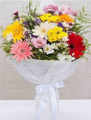 Karışık Mevsim Buketleri  Amasya ucuz çiçek gönder