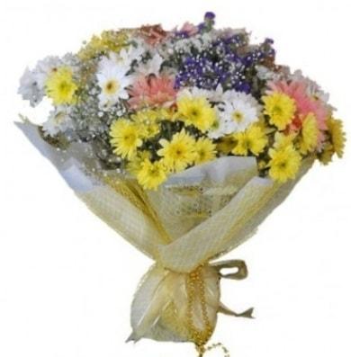 Karışık mevsim çiçeği  Amasya çiçek satışı