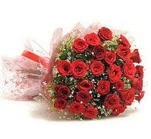 27 Adet kırmızı gül buketi  Amasya ucuz çiçek gönder