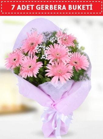 Pembe Gerbera Buketi  Amasya çiçek , çiçekçi , çiçekçilik