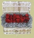 Amasya cicekciler , cicek siparisi  Sandikta 11 adet güller - sevdiklerinize en ideal seçim